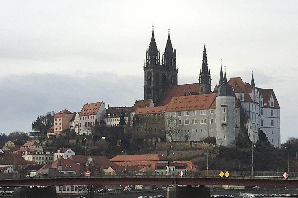 Meißen: Altstadtblick