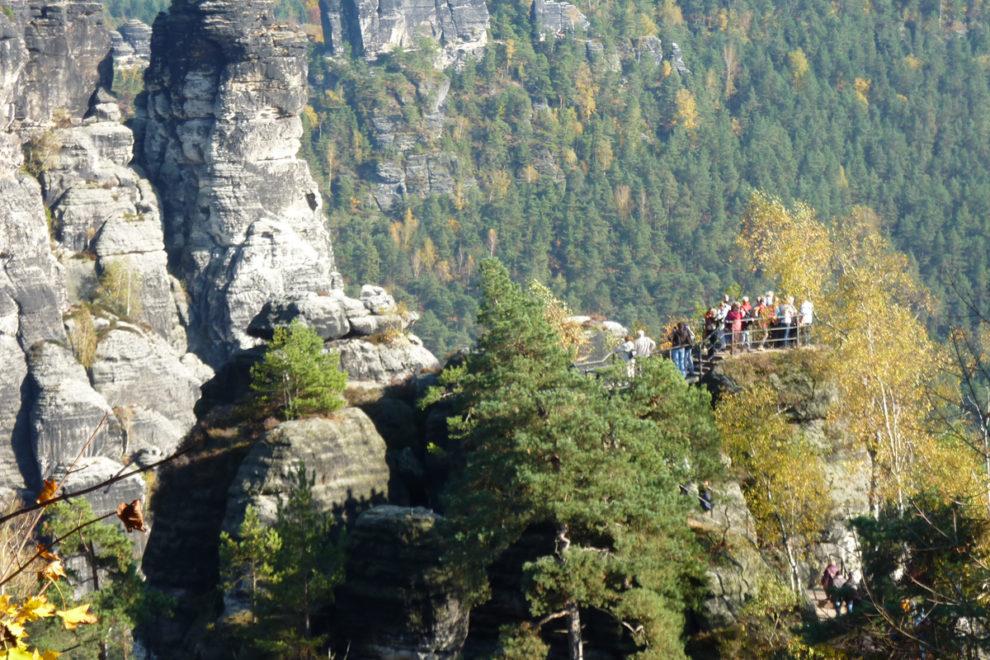 Sächsische Schweiz: Bastei Aussichtspunkt
