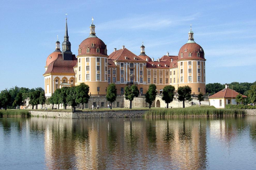Moritzburg: Jagdschloss