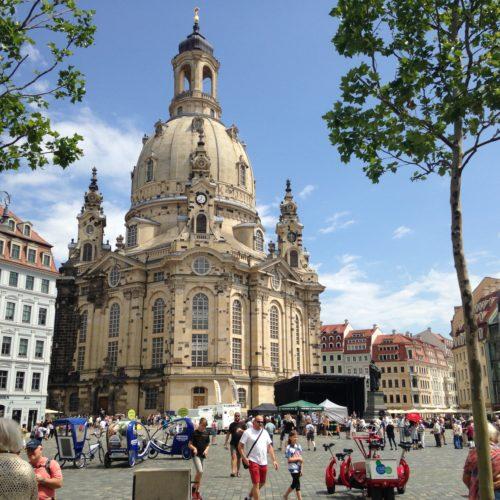 Historisches am Dresdner Neumarkt