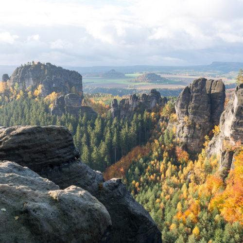 Hohe Gäste auf der Festung Königstein